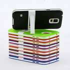 NEW TPU Silicone Gel Rubber Stand Case Skin Cover for Samsung Galaxy S5 SV I9600