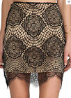 New Fashion Spring Summer Colours Geometric Design Fashion Eyelash Lace Skirt