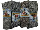 6 Ladies Chunky Thermal Wool Blend Hiking Walking Boot Socks / UK 4-6
