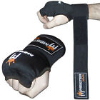 MEISTER PADDED PROWRAPS Inner Hand Wraps Gloves - MMA Boxing Wrist Fight PAIR