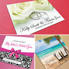 50 Personalised Wedding Invitations with Envelopes ★Day & Evening Invites★