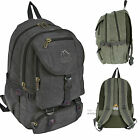 Backpack Rucksack Canvas Hiking Camping Travel Flight Hand Luggage Laptop Bag