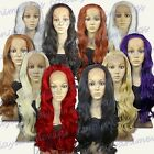 28 inch Heat Resistant Lace Front ALL COLOR Curly Long Cosplay Wigs