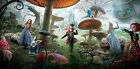 Alice in Wonderland Jonny Deep Movie Cat Panoramic 67 cm long Poster