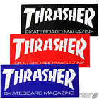 "THRASHER MAGAZINE ""Logo"" Skateboard Sticker Medium Red, Blue or Black 15cm x 6cm"