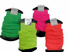 LADIES NEON LEG WARMERS ONE SIZE FOUR DIFFERENT COLOURS