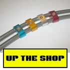 New brake line or cable separator suit 8mm diameter -3 PVC covered hose or Cable