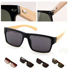 Bamboo Sunglasses Wooden Wood Mens Womens Retro Vintage Summer Oculos Glasses
