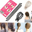 French Hair Braid Braiding Tool Roller Style Hook Hair Twist Styling Bun Maker