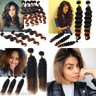 Ombre Brazilian Hair Weaves Color 1B/30# TwoTone Ombre Human Hair Extensions Hot