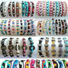 FRIENDSHIP BRACELET SET 1pc 5pc 10pc WHOLESALE party bag charm wristband job lot