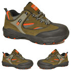MENS SAFETY STEEL TOE CAP TRAINERS SAFETY BOOTS STEEL MIDSOLE LACE UP WORK SHOES