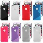 """S-Line Soft Rubber Gel TPU Back Case Cover Skin for iPhone 6 4.7"""" / 6 Plus 5.5"""""""