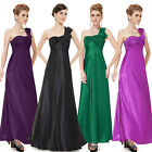 Ever-Pretty One Shoulder Long Bridesmaid Dresses Evening Party Prom Gowns 09667