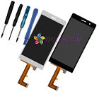 Original Touch Screen Digitizer + LCD Display Assembly For Huawei Ascend P7+Tool