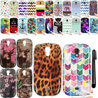 For Samsung Galaxy Light T399 Art Design TPU SILICONE Case Phone Cover + Pen