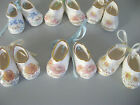 MINIATURE CHINA BOOTEES - MONTH OF YEAR BIRTHDAY ANNIVERSARY BOOTS  - AUST MADE