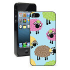 For Apple iPhone SE 5 5S 5c 6 6s 7 Plus Hard Case Cover 1069 Colorful Sheep