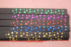 Foil Stamping Lucky Star Origami Folding Black Paper Strips