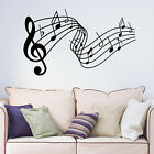 Music Notes Wall Decal Decorative Vinyl Wall Art Sticker Home Decoration Bedroom
