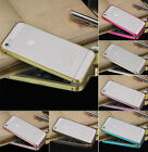 Luxury Hard Metal Aluminum Frame Bumper Shell Case Cover For iPhone 4/4S 5/5S