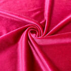 Stretch Velvet Fabric 60'' Wide by the Yard for Sewing Apparel Costumes Craft