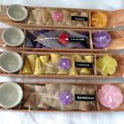 NEW GIFT SETS INCENSE CONES WITH A CERAMIC DISH HOLDER AND SMALL SCENTED CANDLE