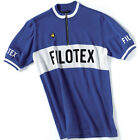 DE MARCHI FILOTEX MERINO WOOL CYCLING JERSEY Bike Classic Retro Francesco Moser