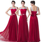 Christmas SALE~Long Wedding Bridesmaid Ball Gown Masquerade Evening Prom Dresses