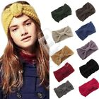 Women Girl's Knitted Hair Headband Ribbon Warmer Make Up Head Wrap Hot Sell