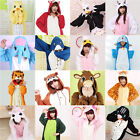 Hot Women Adult Pajamas Kigurumi Cosplay Costume Animal One size Sleepwear Coat
