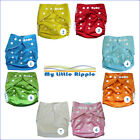Bulk Pack Cloth Nappies + Inserts from My Little Ripple - Reusable + Adjustable