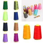 3000 Yards Quality Overlocking Sewing Machine Polyester Thread Cones 50Colors