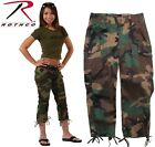 Woodland Camouflage Ladies Women's Camouflage Stretch Capri Pants 1040 Rothco