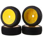 4x RC 1 8 OFF-ROAD BUGGY Wheel Rim & Tyre Tires 81-801 For HSP RedCat RACING