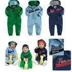 Baby Boy Clothes, Toddlers Sweater Hoodies Jumpsuit Hip Hop Design ON SALE 6M-2T