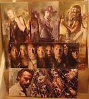 "6 Different Walking Dead Canvas 24""x10"" On A Wooden Stretcher Frame,New Design"