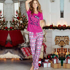 Avon Hello Kitty Fair Isle Long Leg PJs Pyjama Set ~ Choose Your Size ~ New