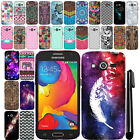 For Samsung Galaxy Avant G386T Design TPU SILICONE Rubber Case Phone Cover + Pen