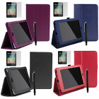 Leather Smart Cover Case Stand for Asus Google NEXUS 7 1 1st Generation 2012