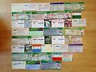 England Used Rugby Tickets 1949 - 2014