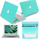 "New Mint Rubberized Hard Case shell keyboard cover for Macbook Air Pro 11""13""15"""