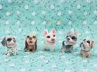 Cute Dog Puppy Pet Doll Bobble Head Tail Dollhouse Miniature One Inch Scale 1:12