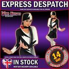 FANCY DRESS LADIES 1920S STYLE COSTUME MILLIE SIZES 6-22