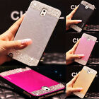 New Bling Diamond Brushed Case Cover For Samsung Galaxy Note 3 4 N9100 S5 i9600