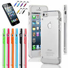 iPhone 5 / 5S Ultra Thin Transparent Crystal Clear Hard TPU Case Cover