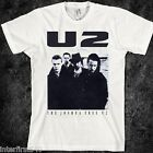 MUSIC T SHIRT, U2, BONO, VINTAGE, 80S, concert, cd, Zooropa, Bloody Sunday, new image