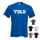 'YOLO' (you only live once) Funny Mens T-shirt