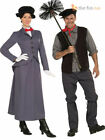 Adult Ladies Mens Victorian Mary Poppins Chimney Sweep Bert Fancy Dress Costume
