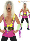 wwf wrestling fancy dress costumes
